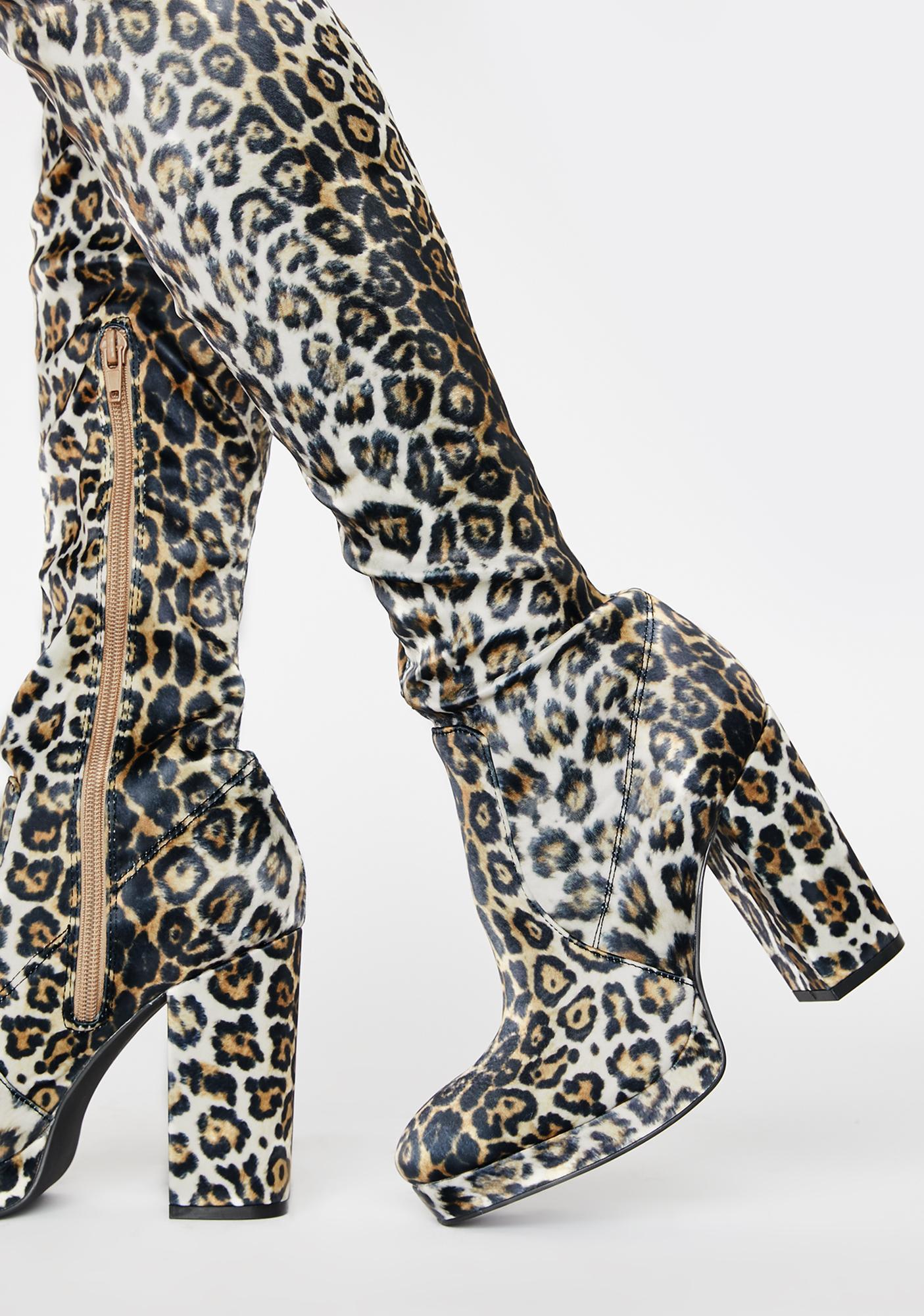 Sugar Thrillz Wrath Of Wifey Thigh High Boots