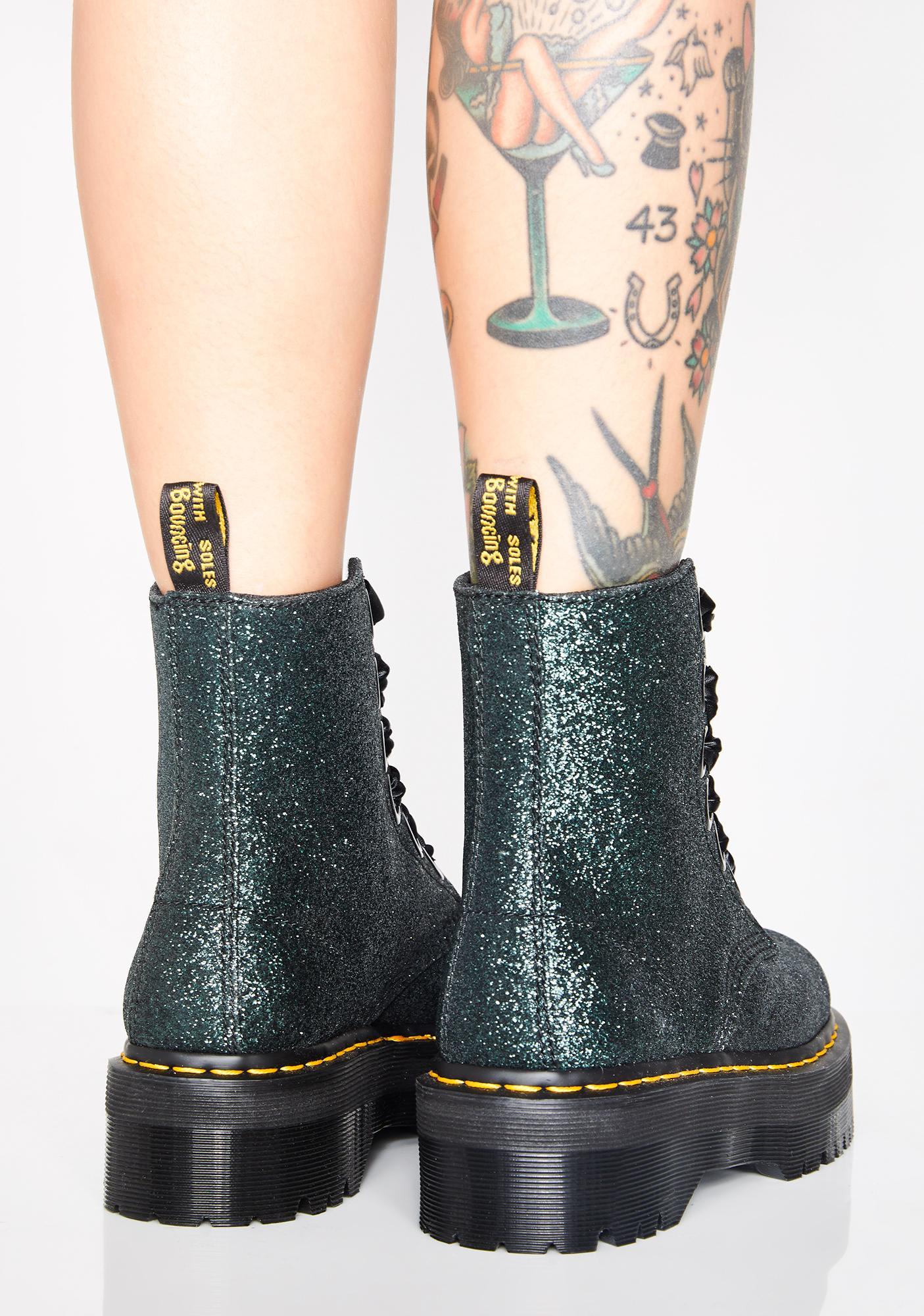 ... Dr. Martens Emerald Molly Glitter Boots ... 7df3f48a13c2