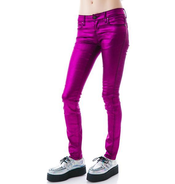 Tripp NYC Mystic Metal Jeans