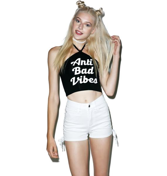 O Mighty Anti Bad Vibes Halter