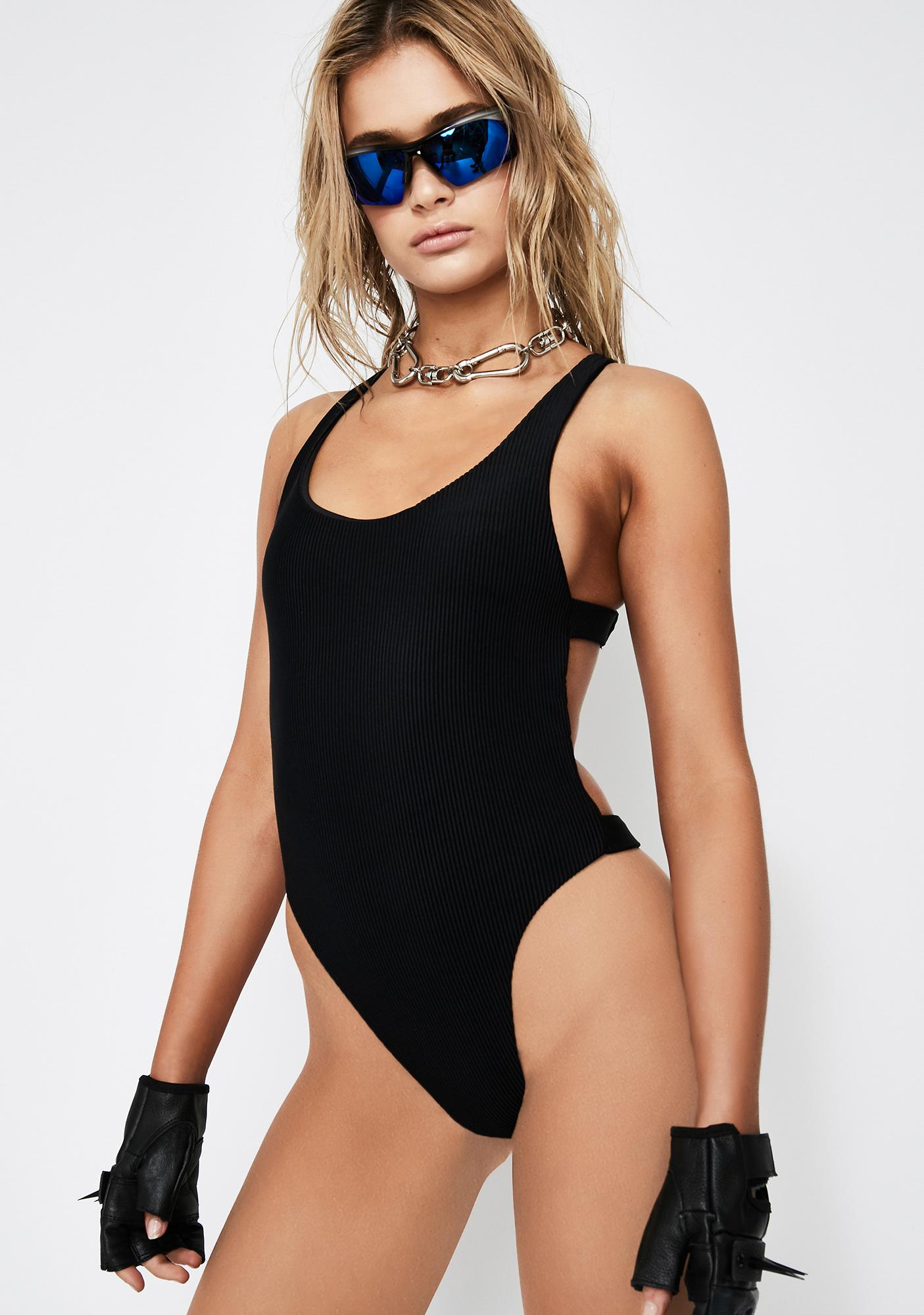 Frankies Bikinis Viv One Piece Swimsuit