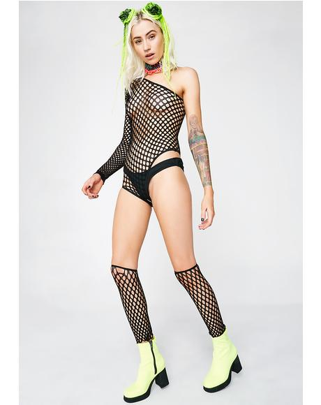 Keep 'Em Shook Fishnet Two Piece