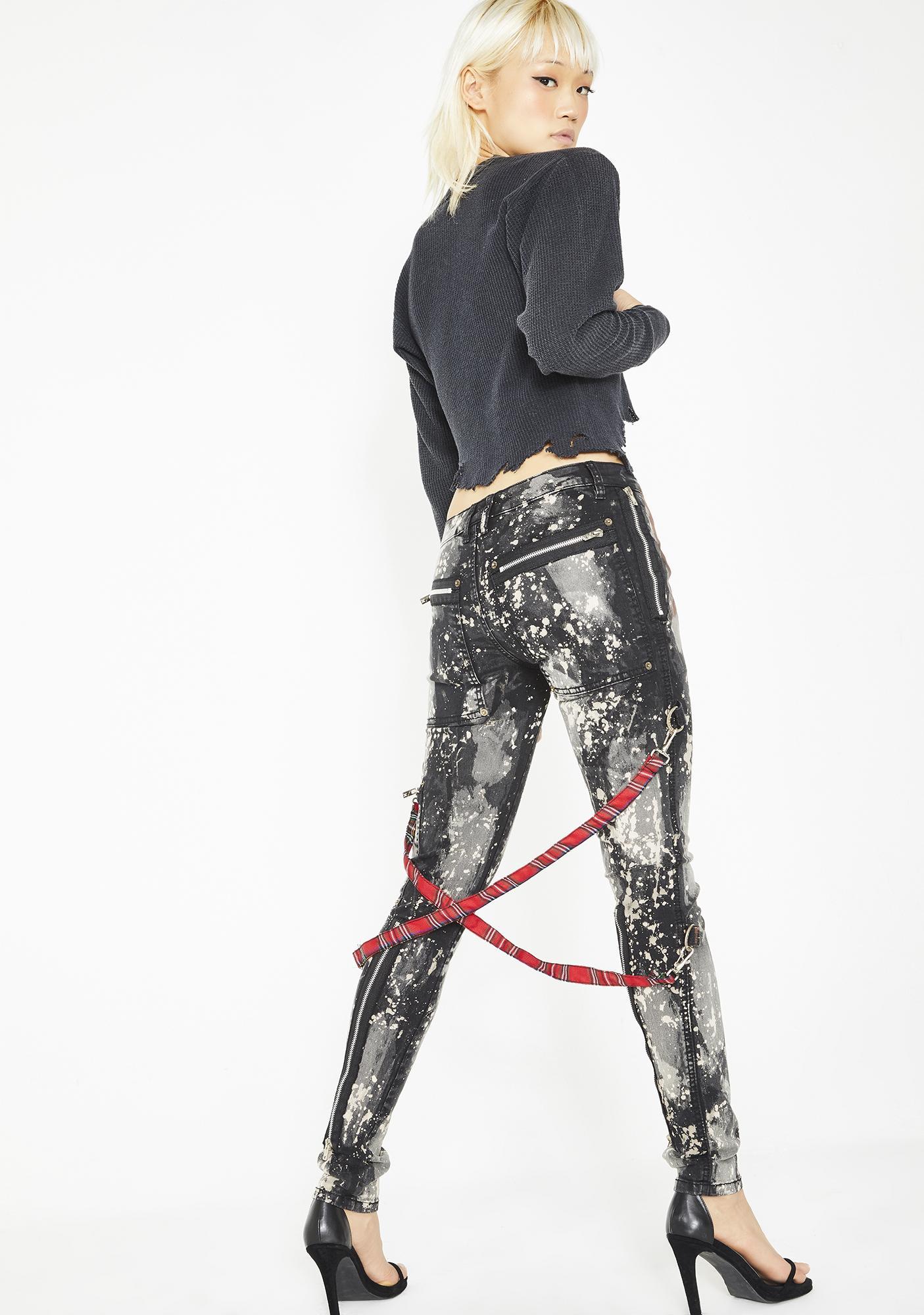 Tripp NYC Bleached Chaos Pants
