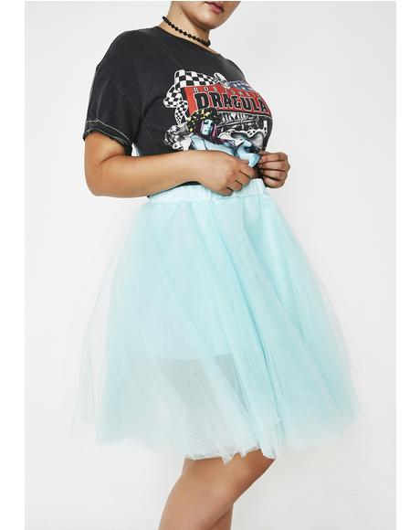 Not So Blue Picture Perfect Tulle Skirt