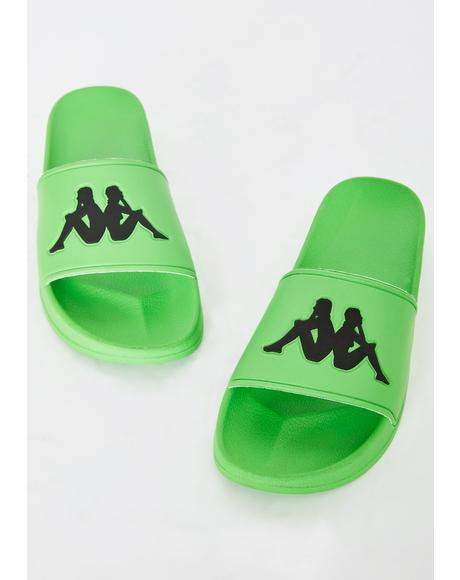 Green Authentic Adam 2 Slides