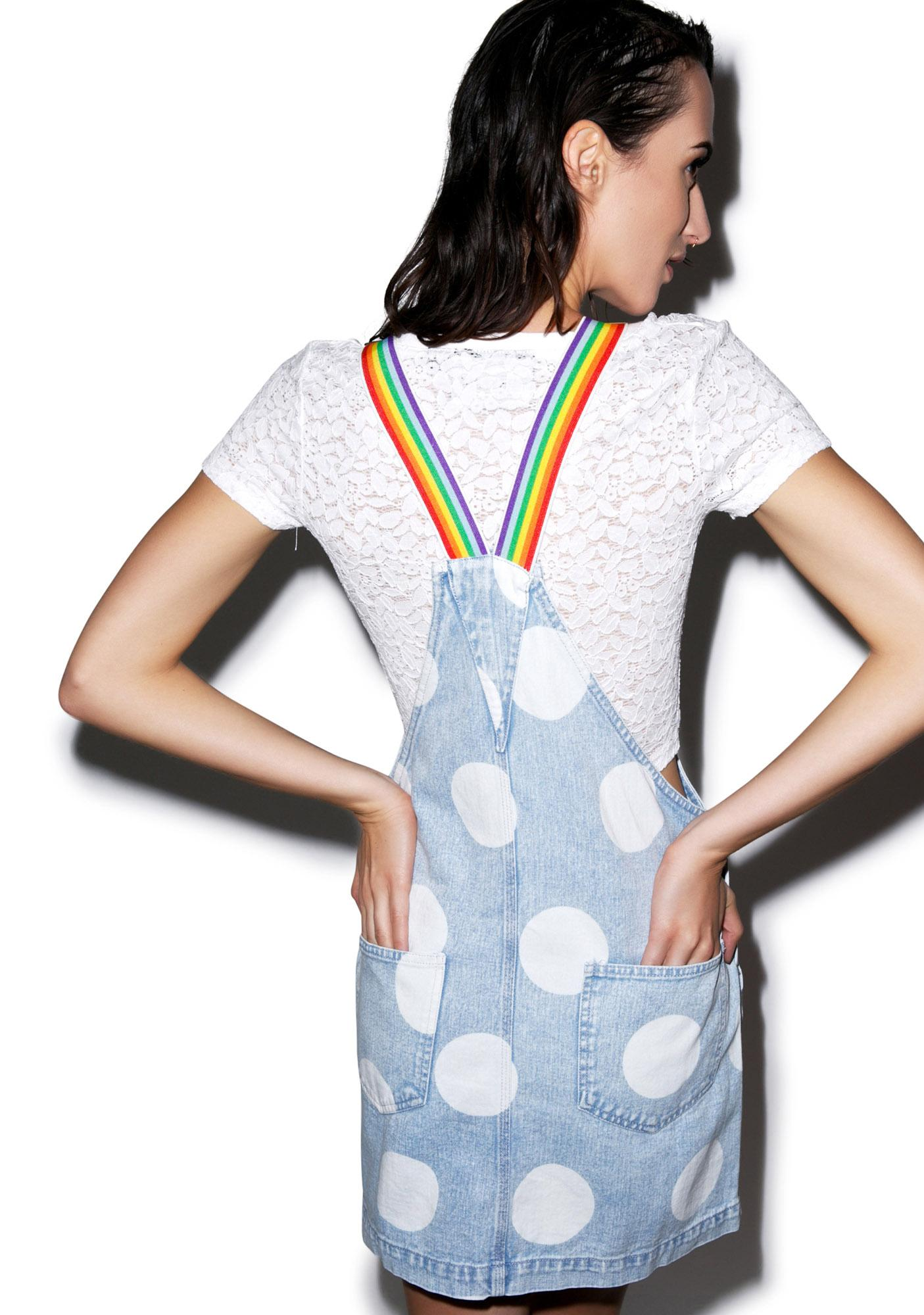 Lazy Oaf Over The Rainbow Dunga Dress
