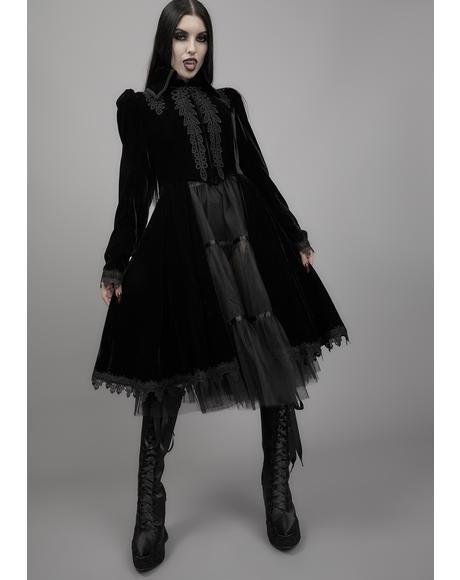 From The Shadows Velvet Coat