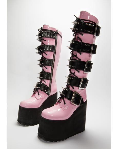 Sweet Appetite For Destruction Platform Boots