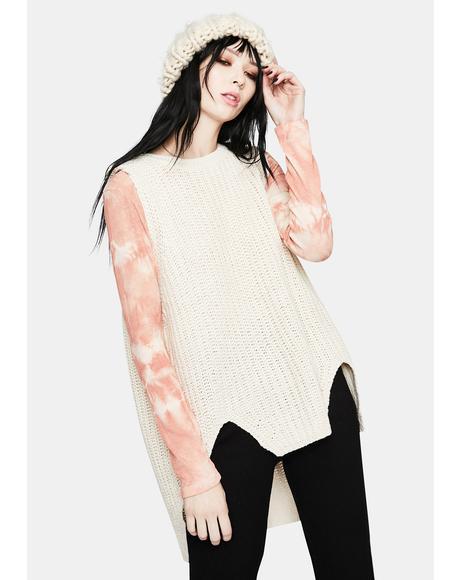 Winter Bummer Knit Sweater Tank
