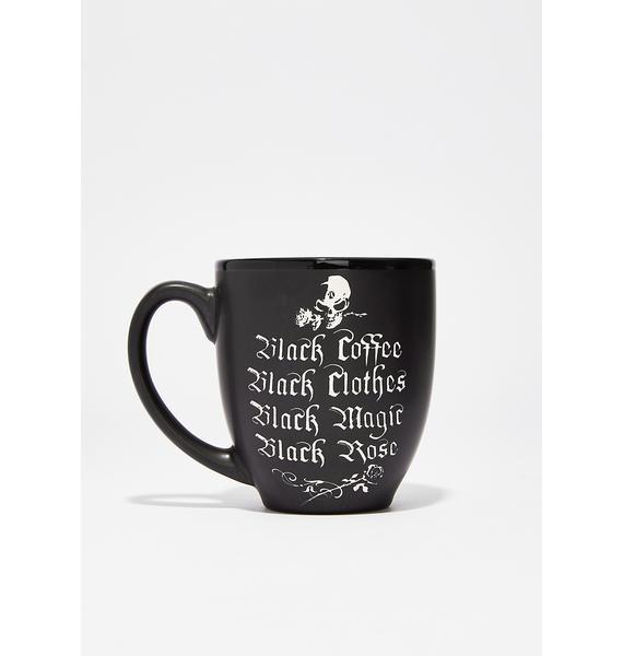 All Black Everything Mug