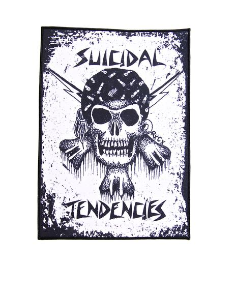 RxCx Skull Back Patch