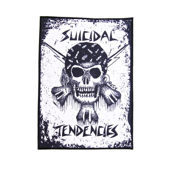 Suicidal Tendencies RxCx Skull Back Patch