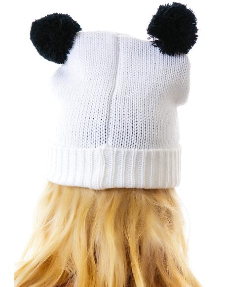 Pandamonium Knit Hat