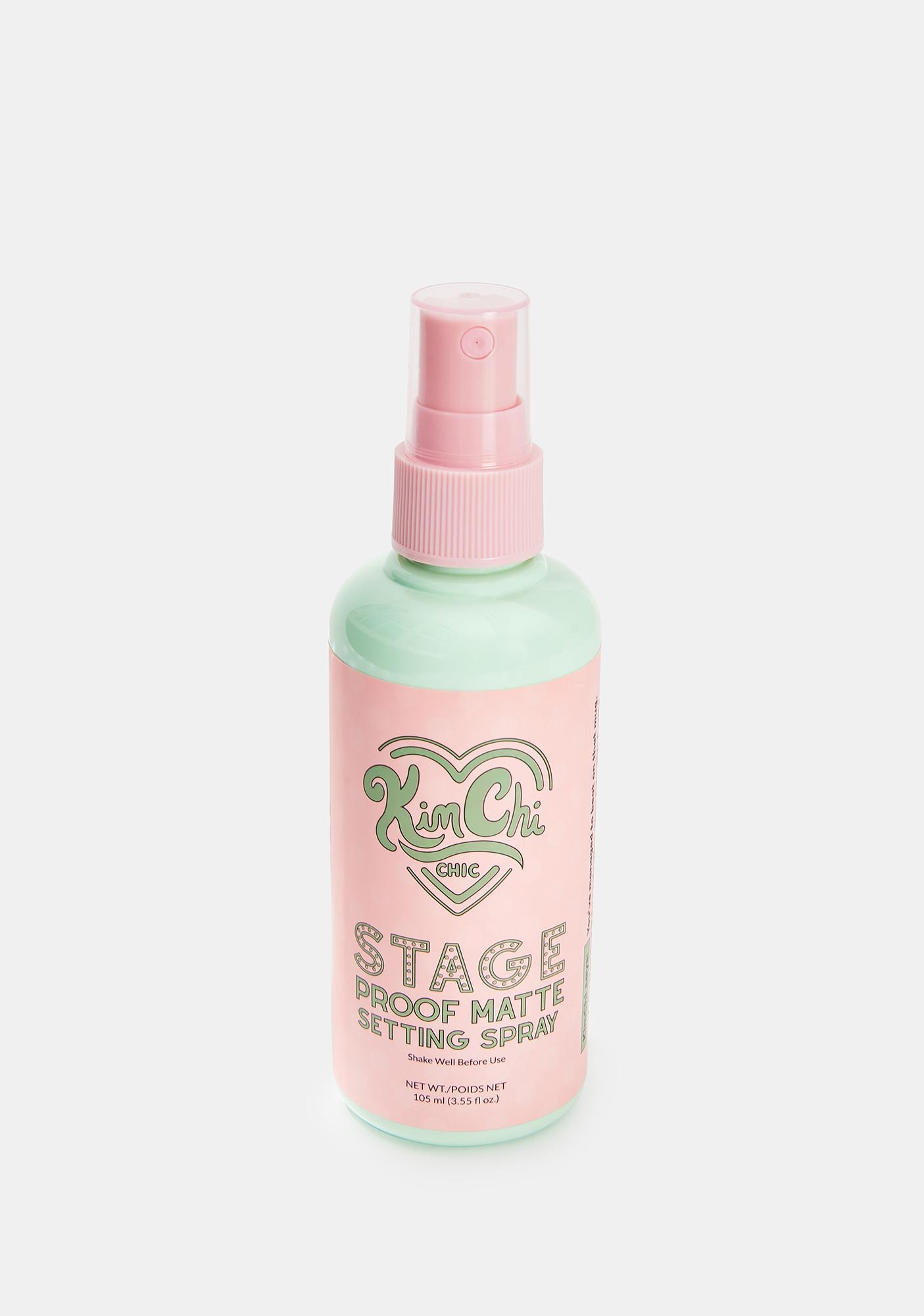 KimChi Chic Beauty Stage Proof Matte Setting Spray