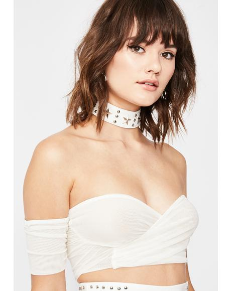 Icy Real Feisty Off The Shoulder Top