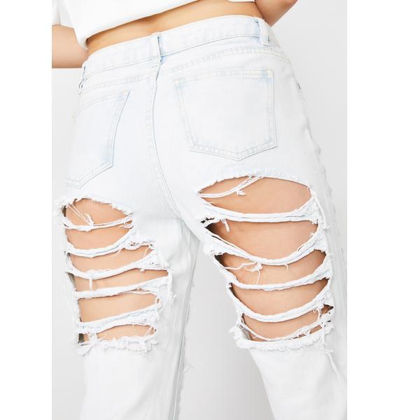 Rebel Rampage Distressed Jeans