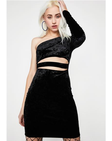 Smooth Killa Velvet Dress