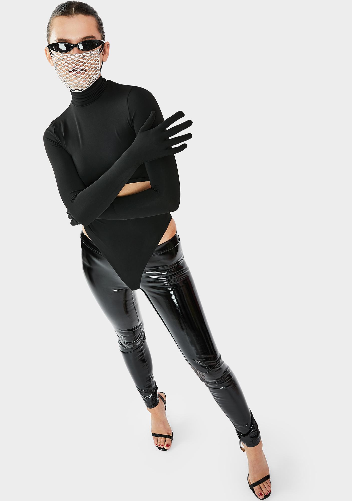 THE KRIPT Uniform Gloves Bodysuit