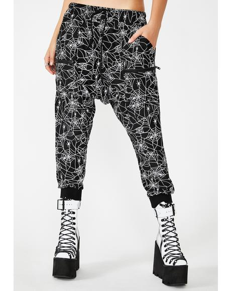 Spider Byte Reflective Unisexx Joggers