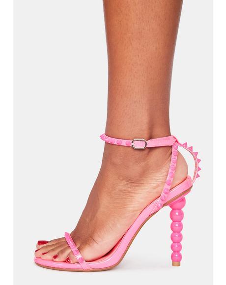 Brewster Studded Heels