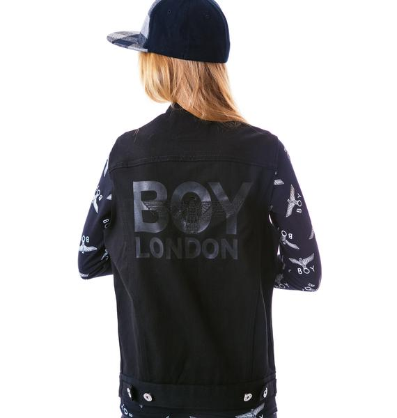 BOY London BOY London Trucker Vest