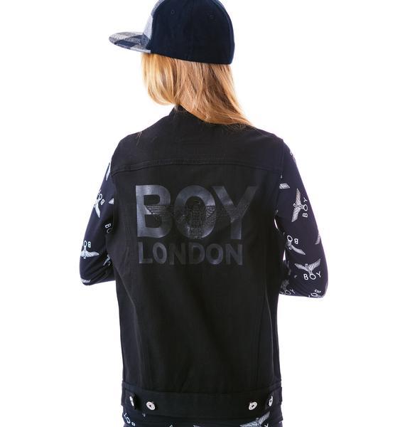 BOY London BOY London Trucker Vest