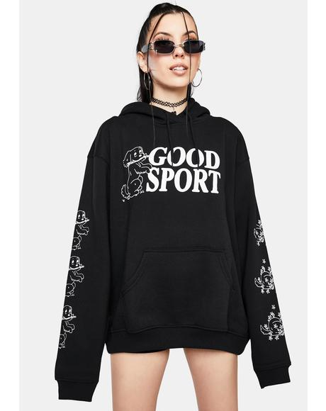 Bad Sport Graphic Hoodie