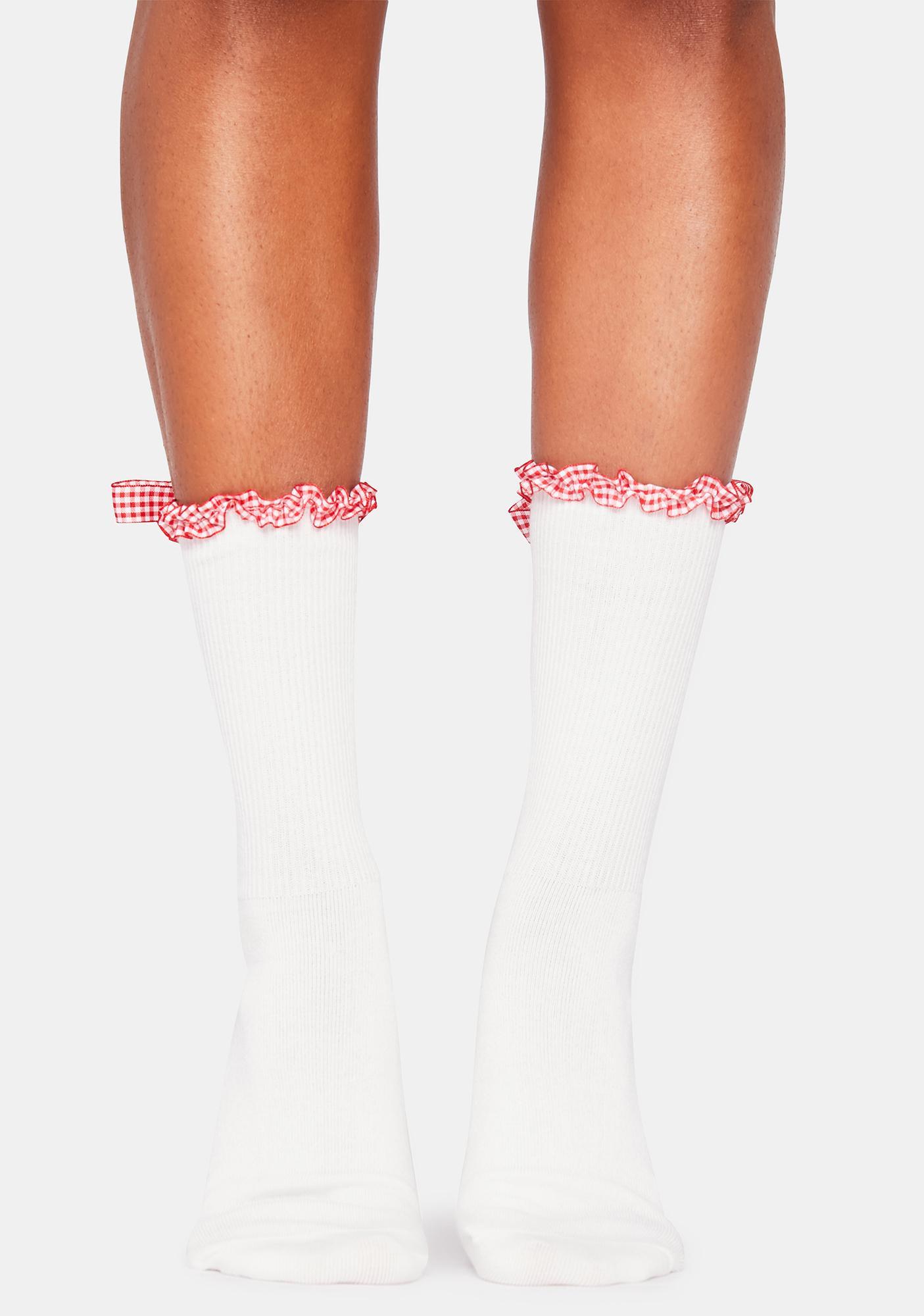 Prairie Daydream Bow Socks