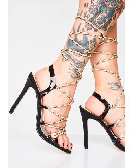 48c5e3b580d AZALEA WANG Sabotage Snake Heels | Dolls Kill