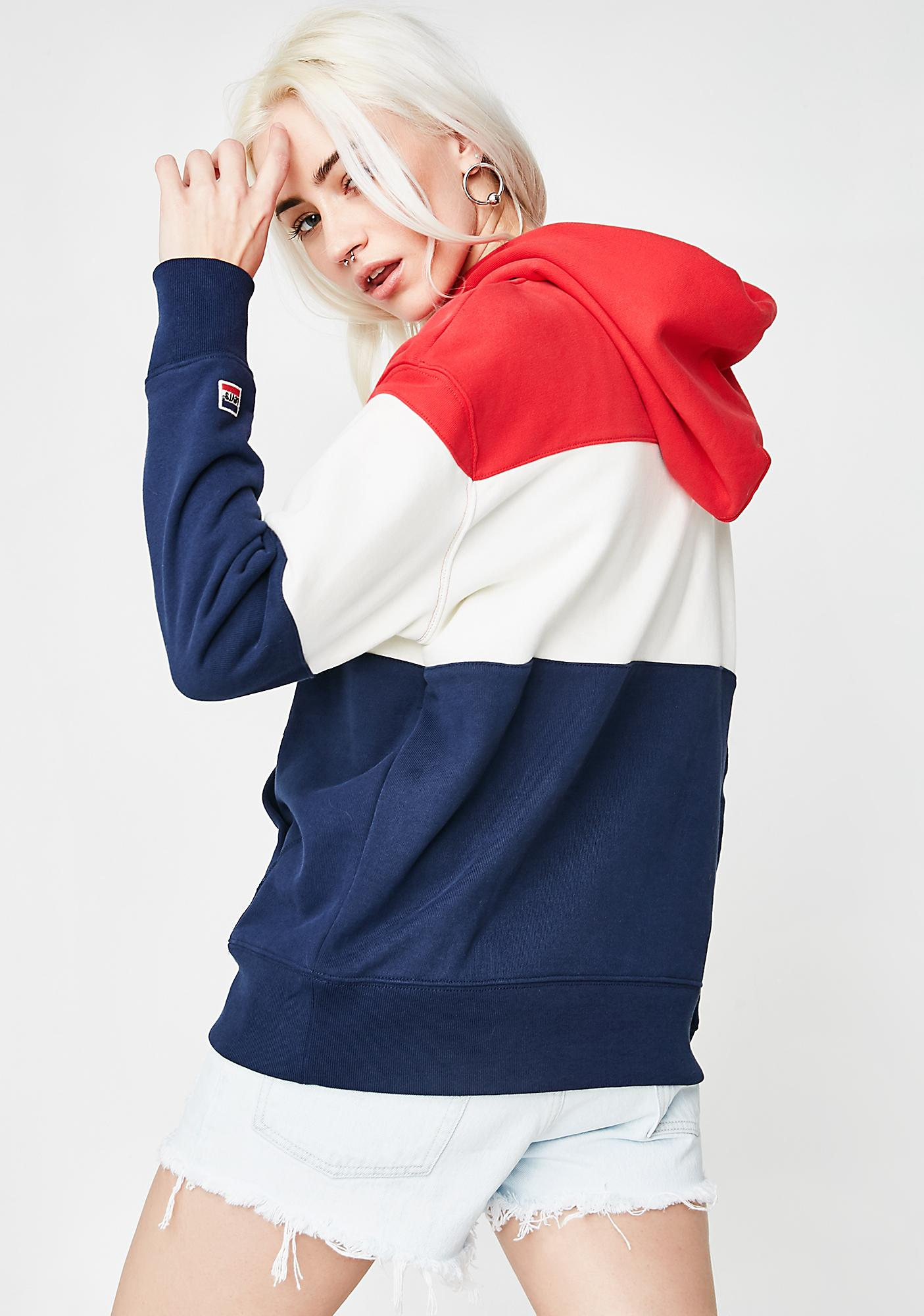 Levis Retro Colorblocked Sweatshirt