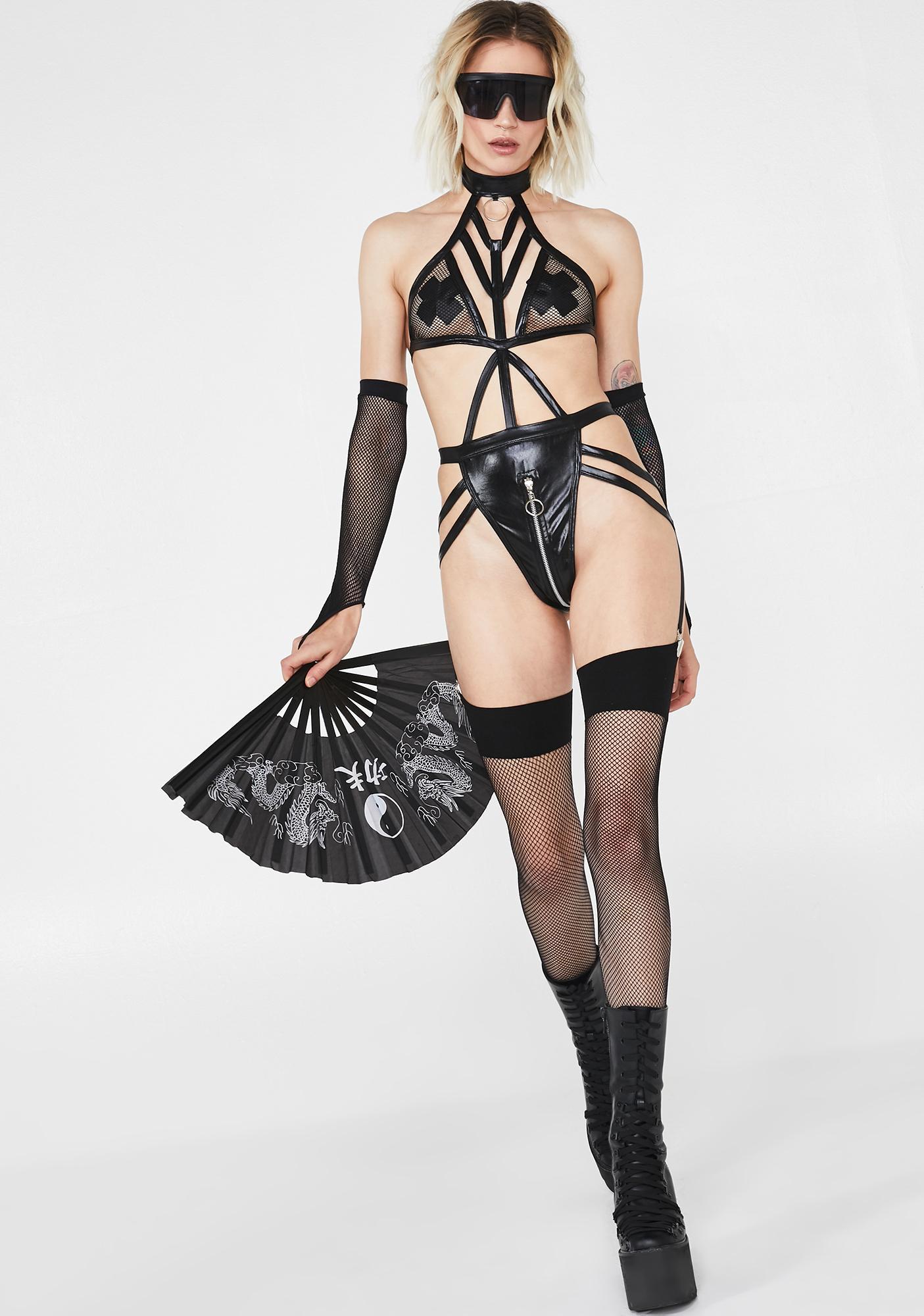 Freak Me Harness Bodysuit
