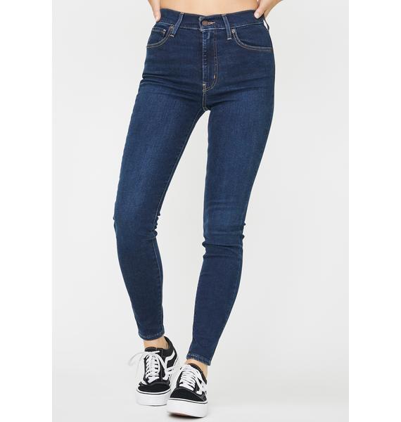 Levis Jet Setter Mile High Super Skinny Jeans