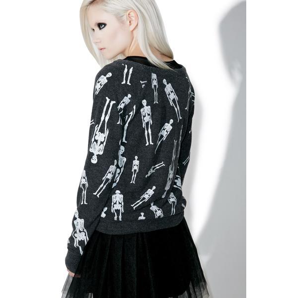 Chaser Skellington Sweater