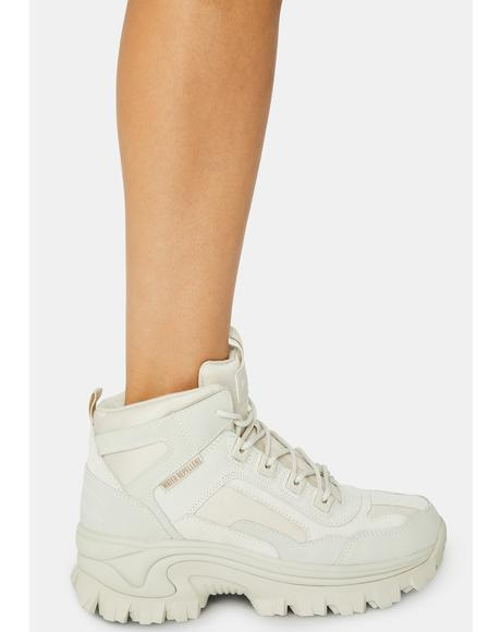 White Street Blox Block Gawkers Sneakers