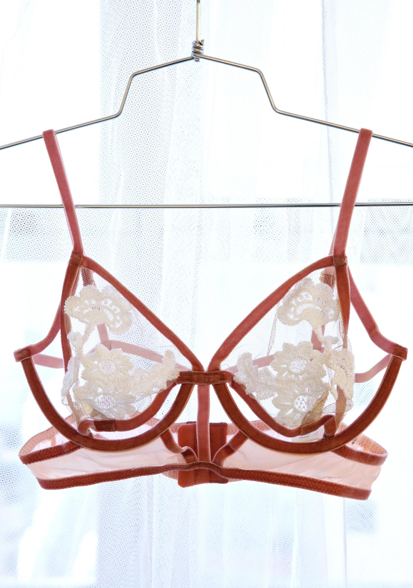 For Love & Lemons Darla Underwire Bra