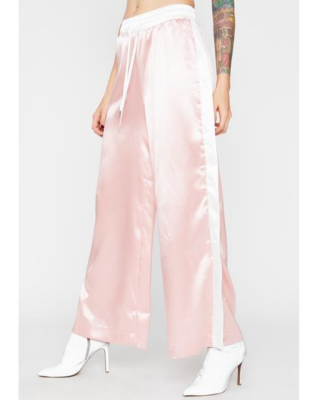 Candy Sweet N Chic Satin Pants