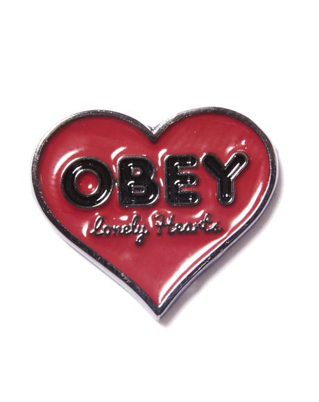 Lonely Hearts Pin