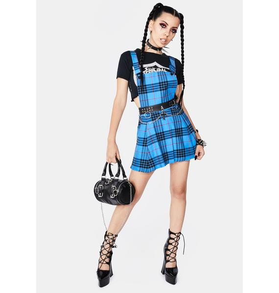 Black Friday Nightshade Pinafore Dress