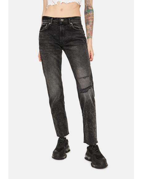 Rock N Roll Vixen Cigarette Jeans