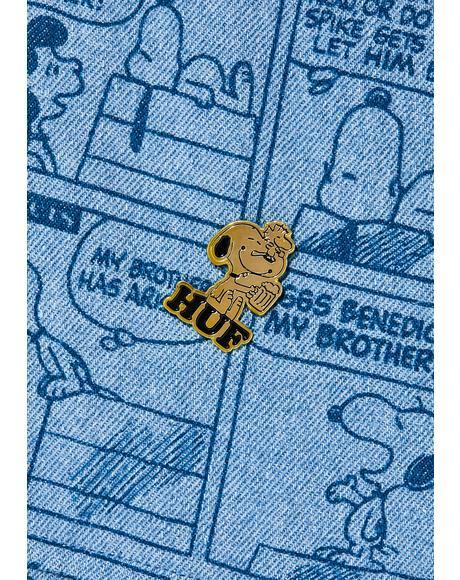 Peanuts Enamel Pin