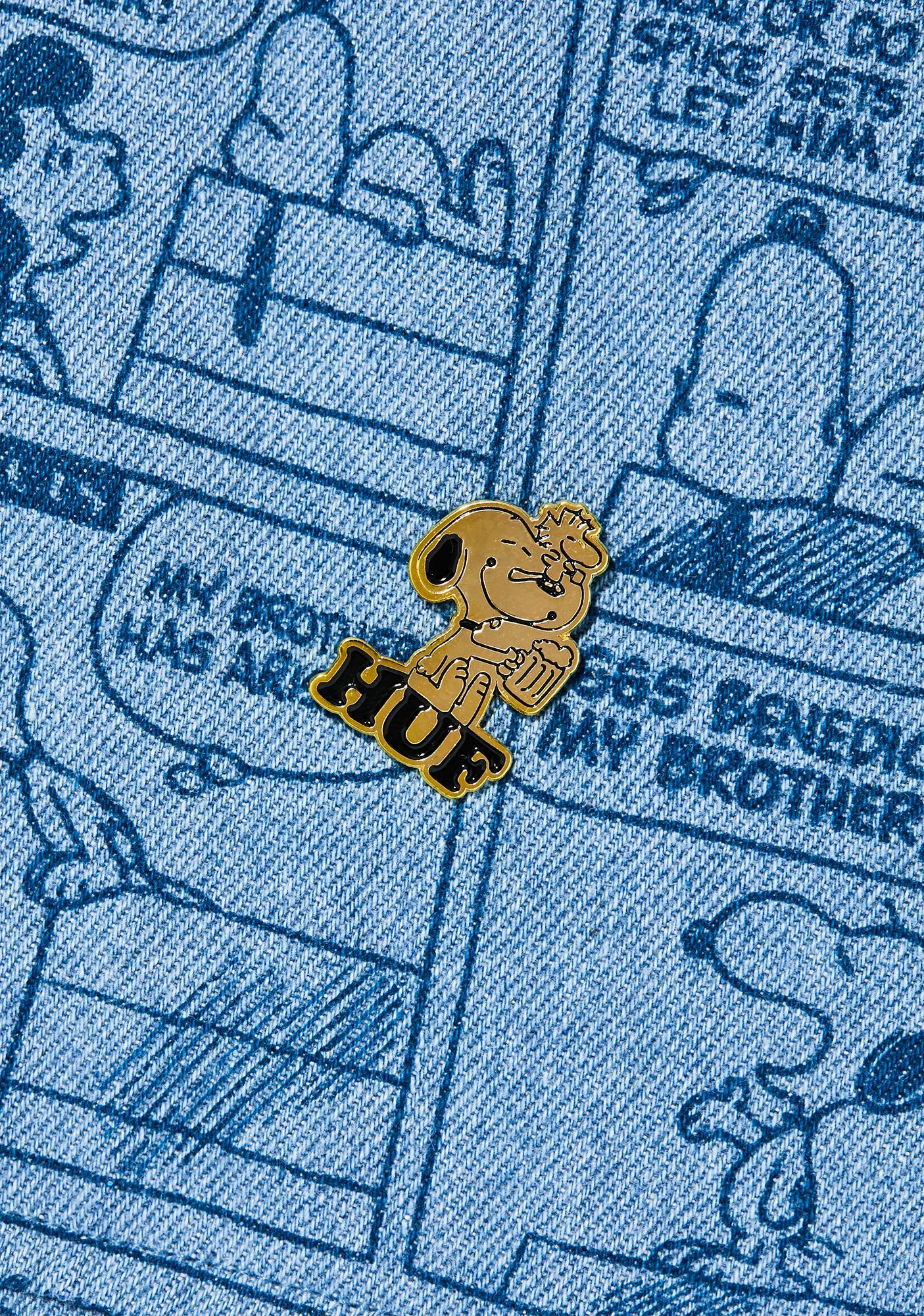 HUF Peanuts Enamel Pin