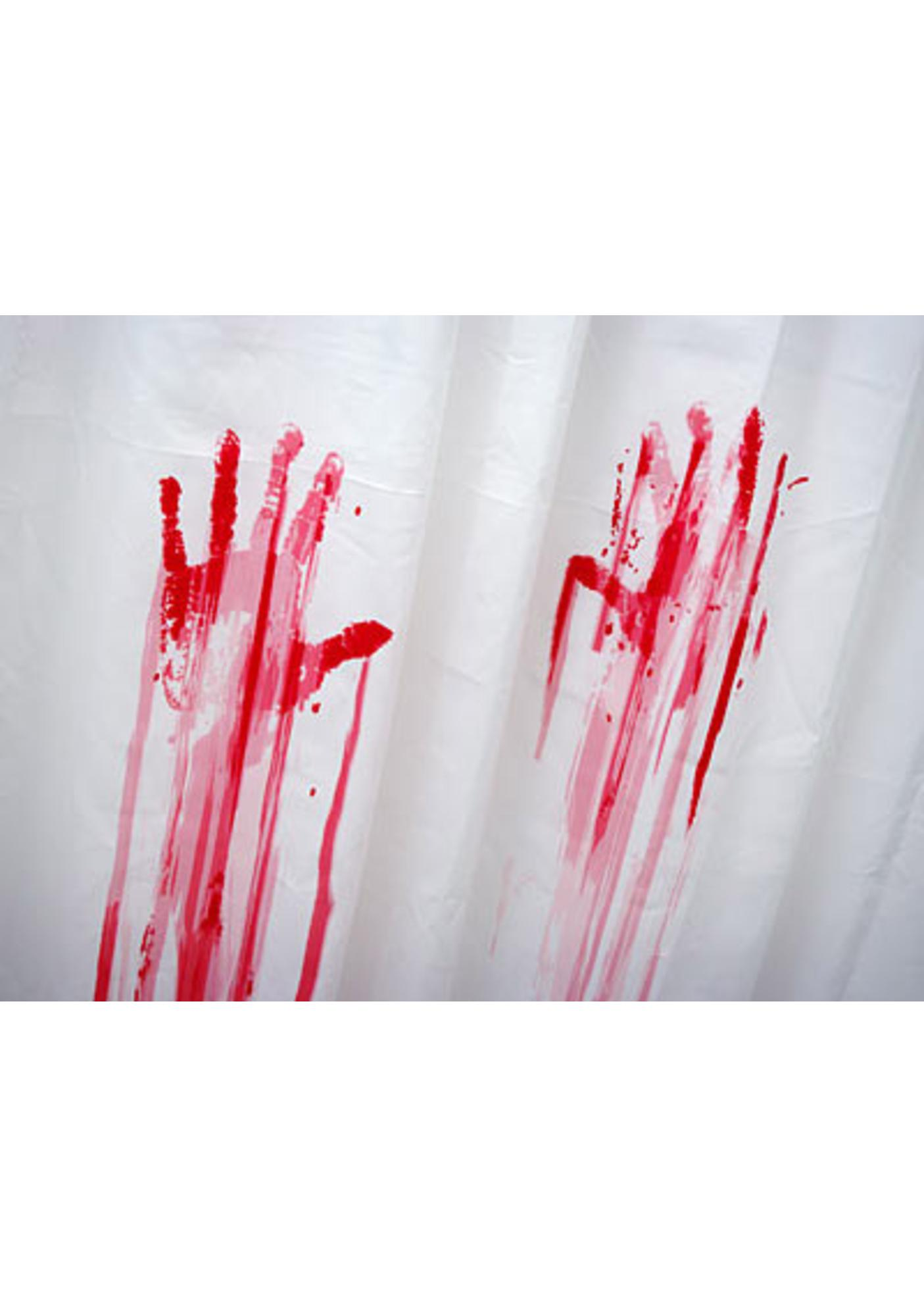 Blood Bath Shower Curtain Curtain Menzilperde Net
