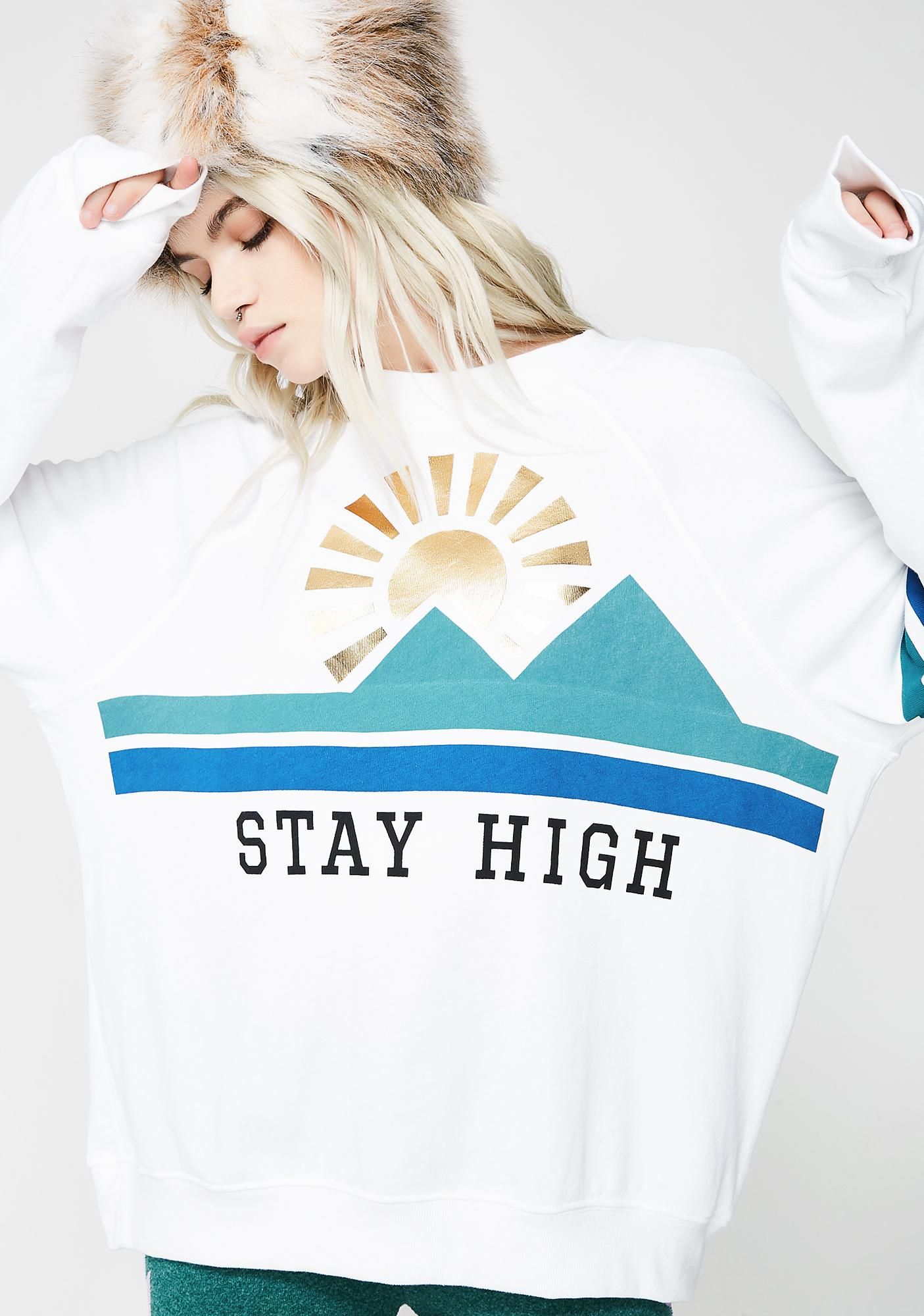 Wildfox Couture Stay High Sommers Sweater