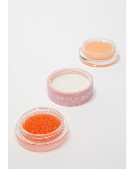 Orange Scrubski & Balmer Lip Exfoliator