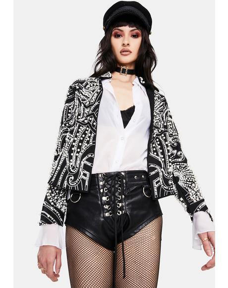 Alix Pearl Crop Jacket
