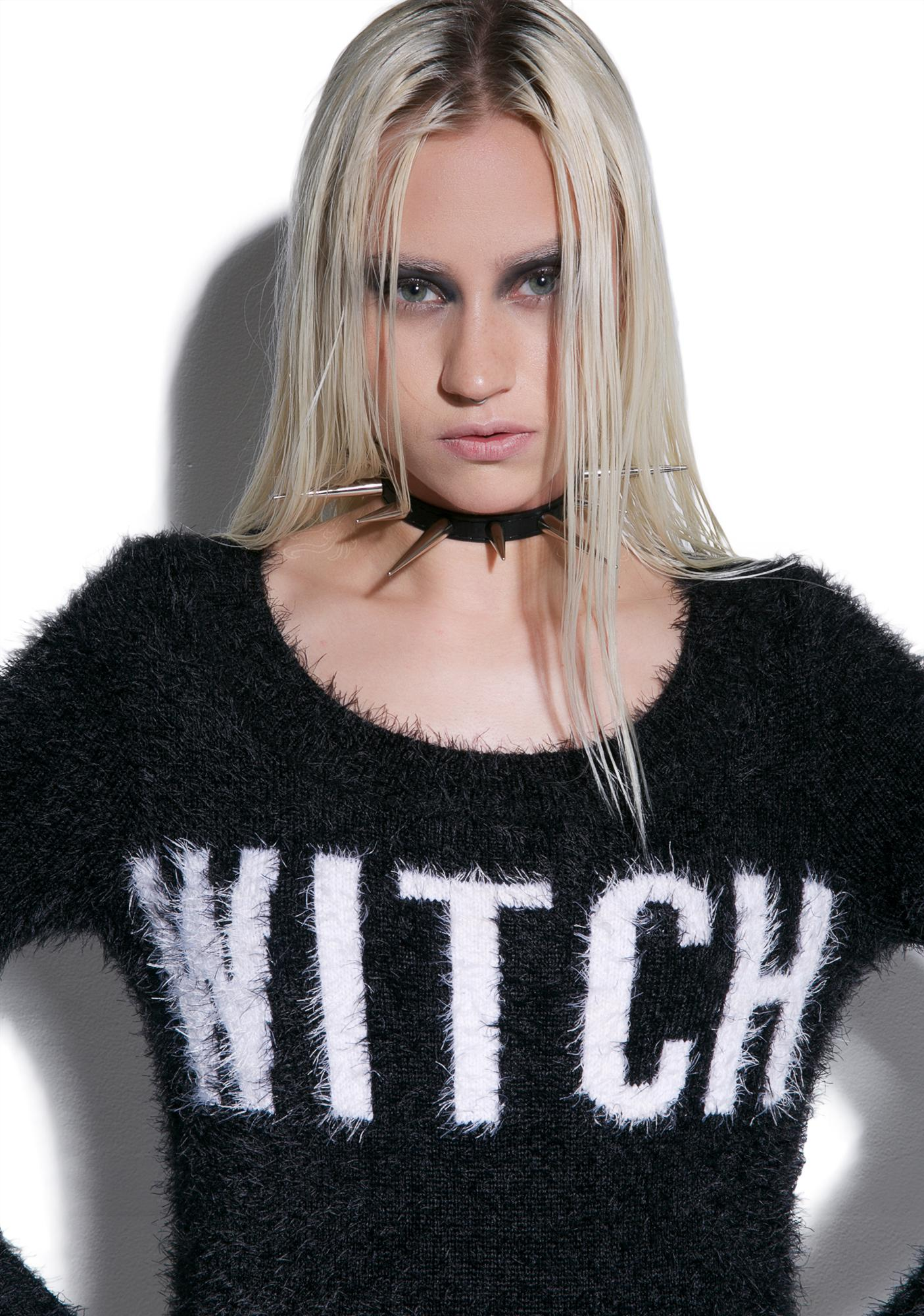 Killstar Witch Dropout Sweater