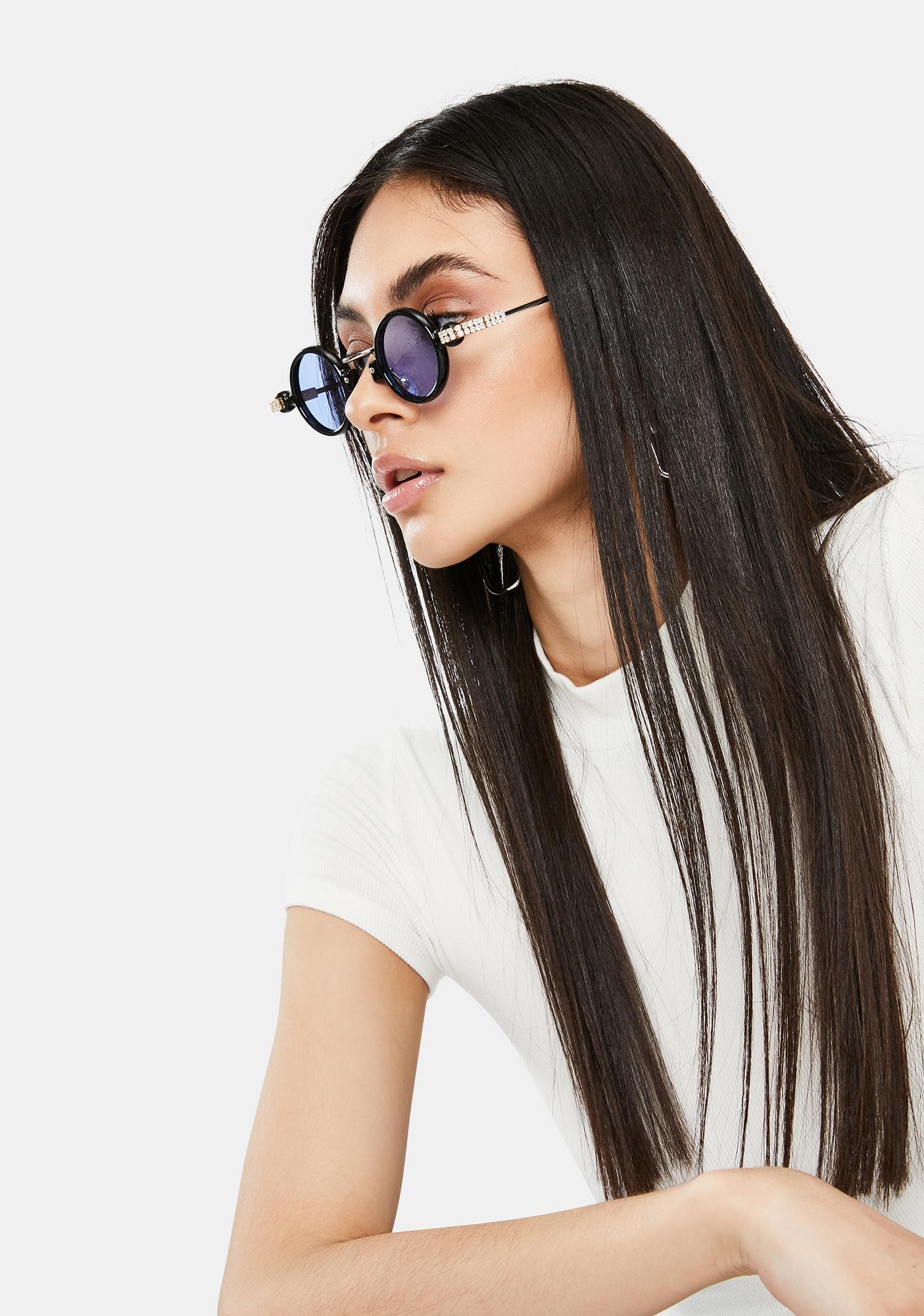 Sky Retro Class Circle Sunglasses