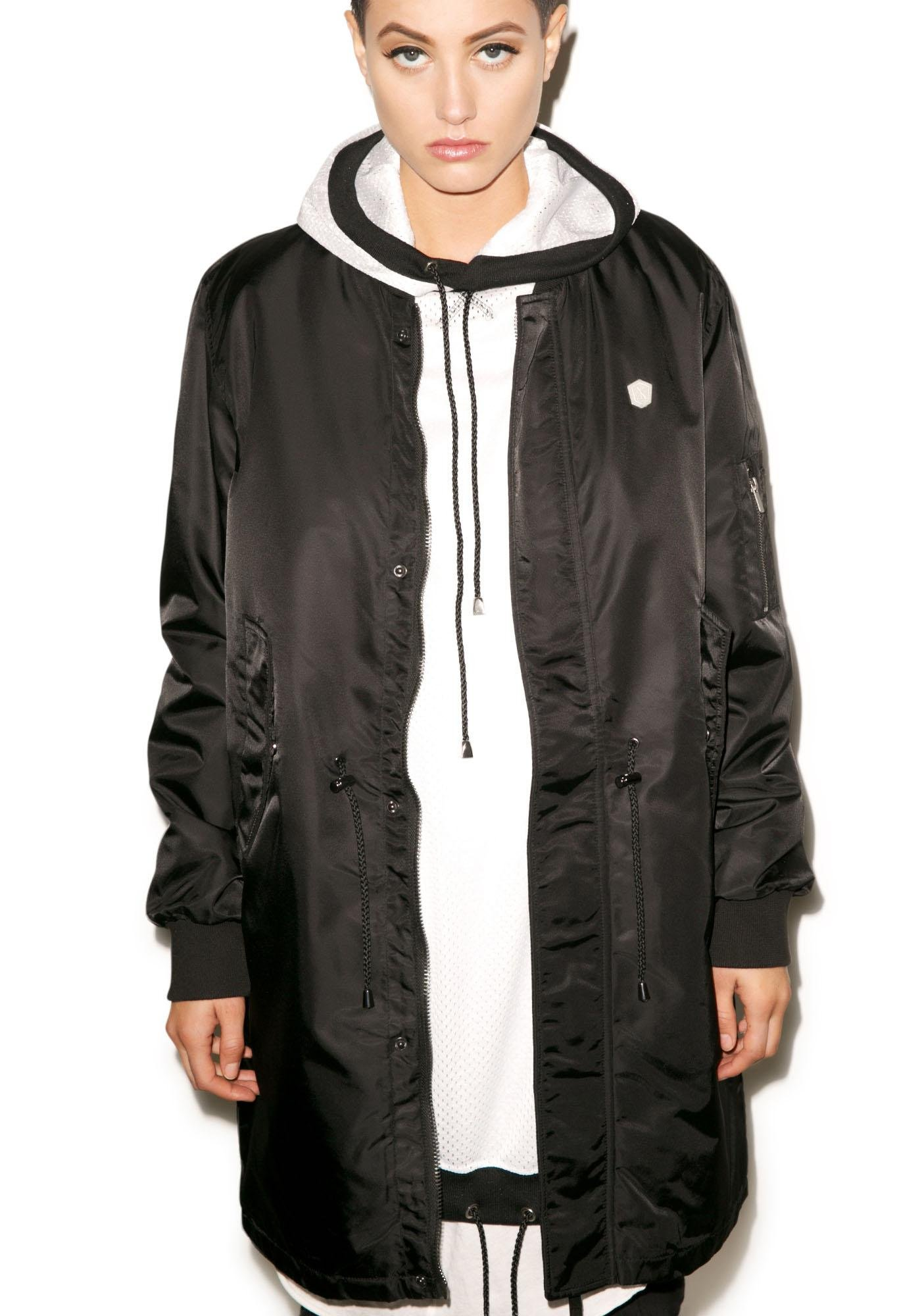Long Clothing Long Fit MA1 Jacket