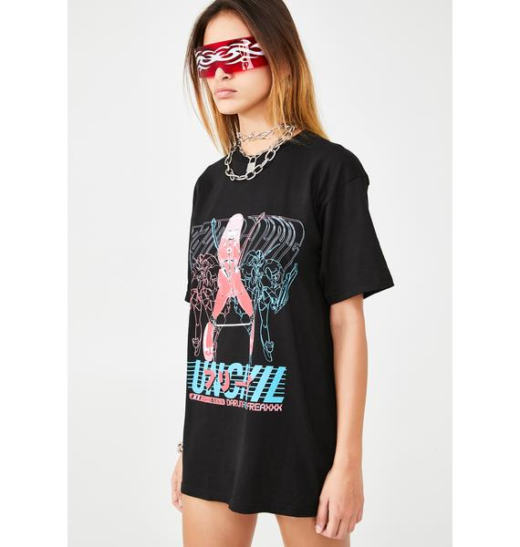 UNCIVIL XXX Darling 4 The Freaxxx Graphic Tee