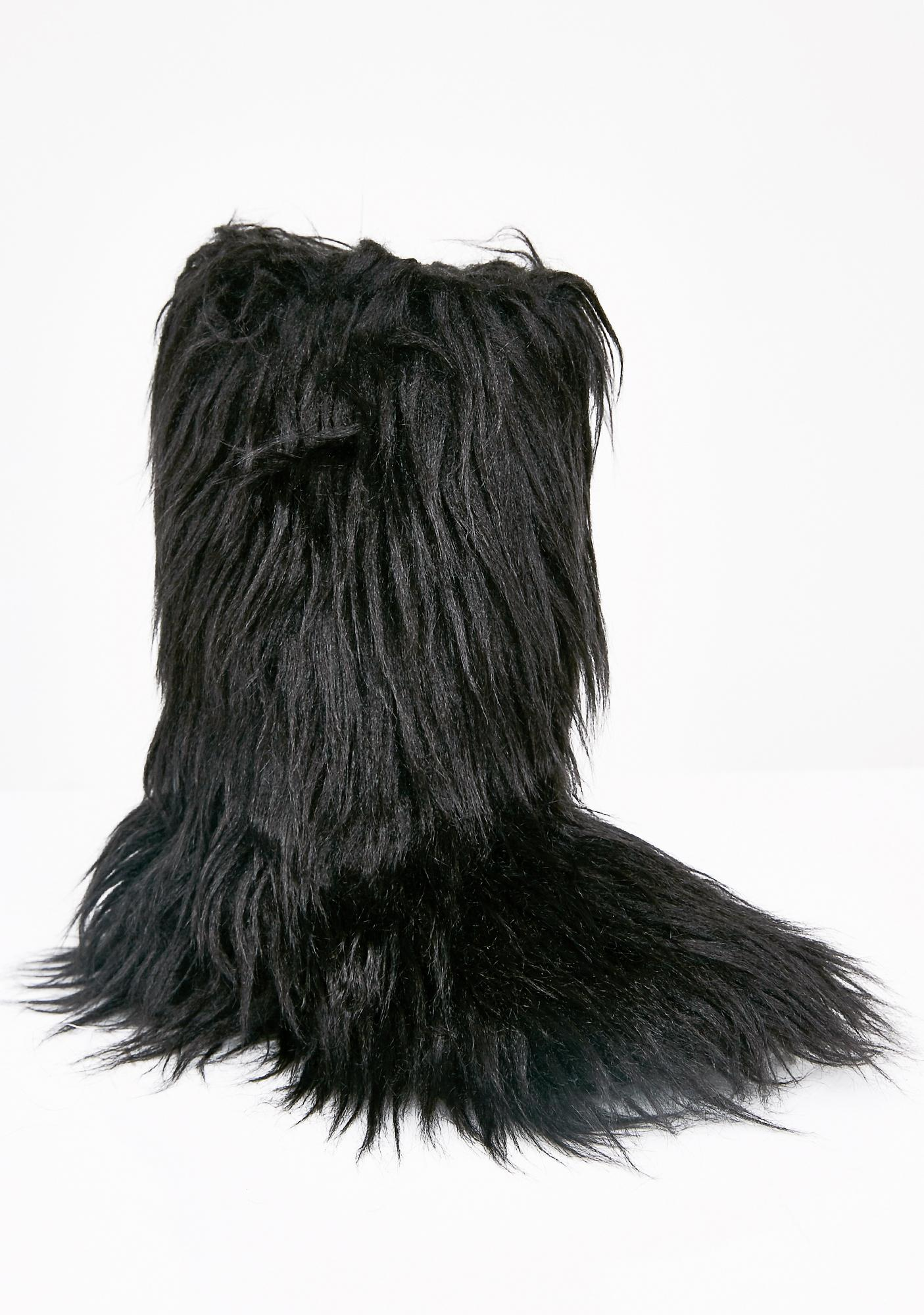 Rocket Dog Midnight Furry Slippers